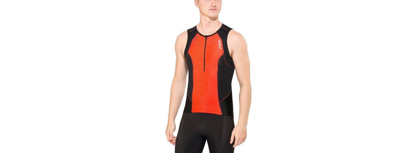 2xU Triathlonbekleidung Perform Tri Singlet Men
