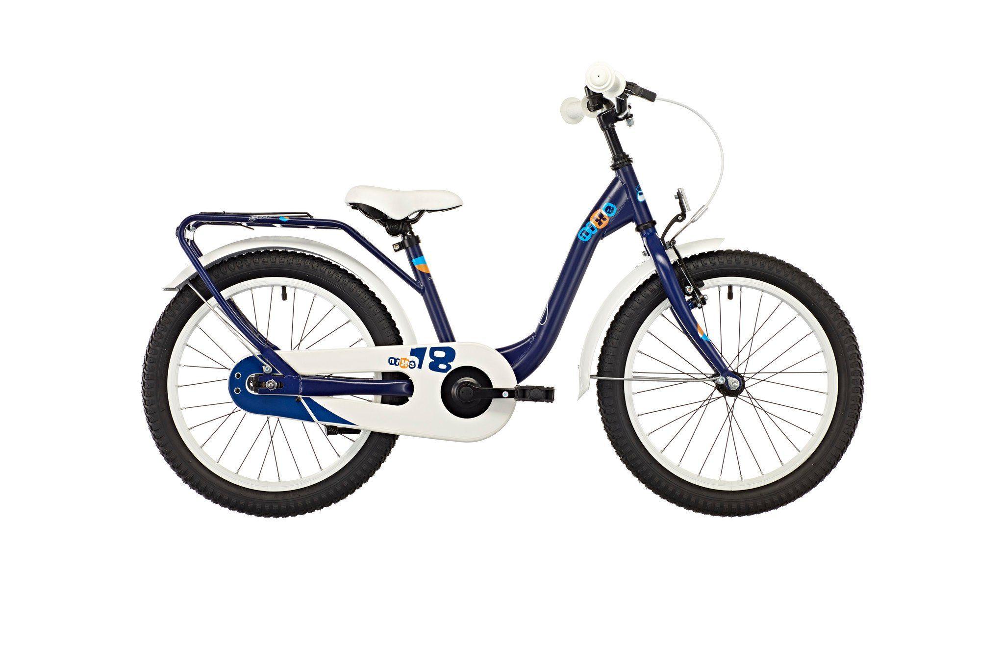 S'COOL Kinderrad »niXe 18 steel blue/orange«