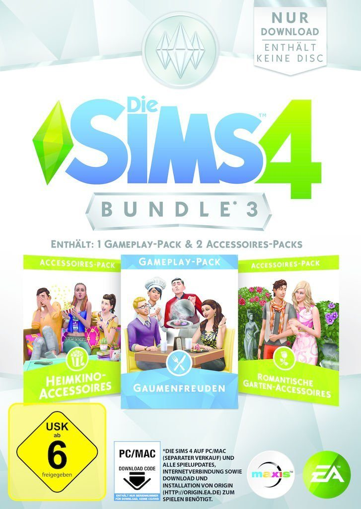 Electronic Arts PC - Spiel »Die Sims 4 Bundle Pack 3«