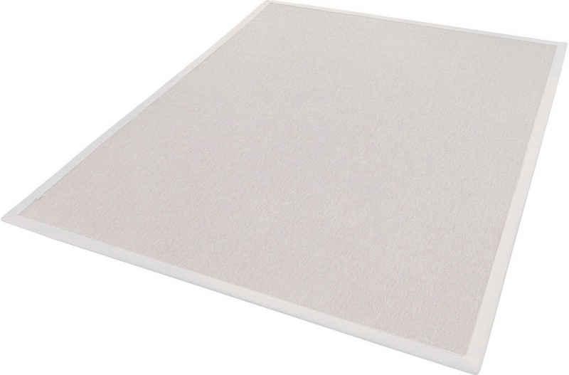 Teppich »Naturino Rips«, Dekowe, rechteckig, Höhe 7 mm, Flachgewebe, Sisal-Optik, mit Bordüre, In- und Outdoor geeignet, Wohnzimmer