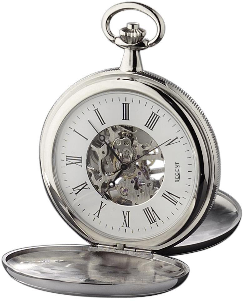Regent Taschenuhr »11340062« (Set, 2 tlg) inkl. Kette | Uhren > Taschenuhren | Regent