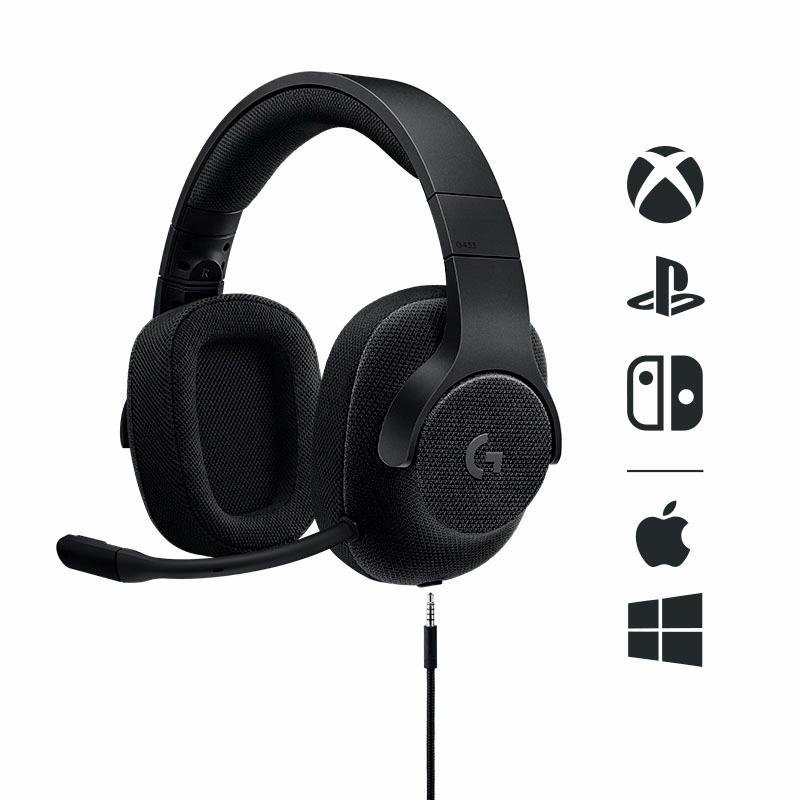 logitech games g433 gaming headset online kaufen otto. Black Bedroom Furniture Sets. Home Design Ideas
