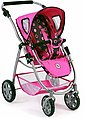 CHIC2000 Kombi-Puppenwagen »Emotion 2in1, schwarz-pink«, mit Babywanne und Sportwagenaufsatz, Bild 8