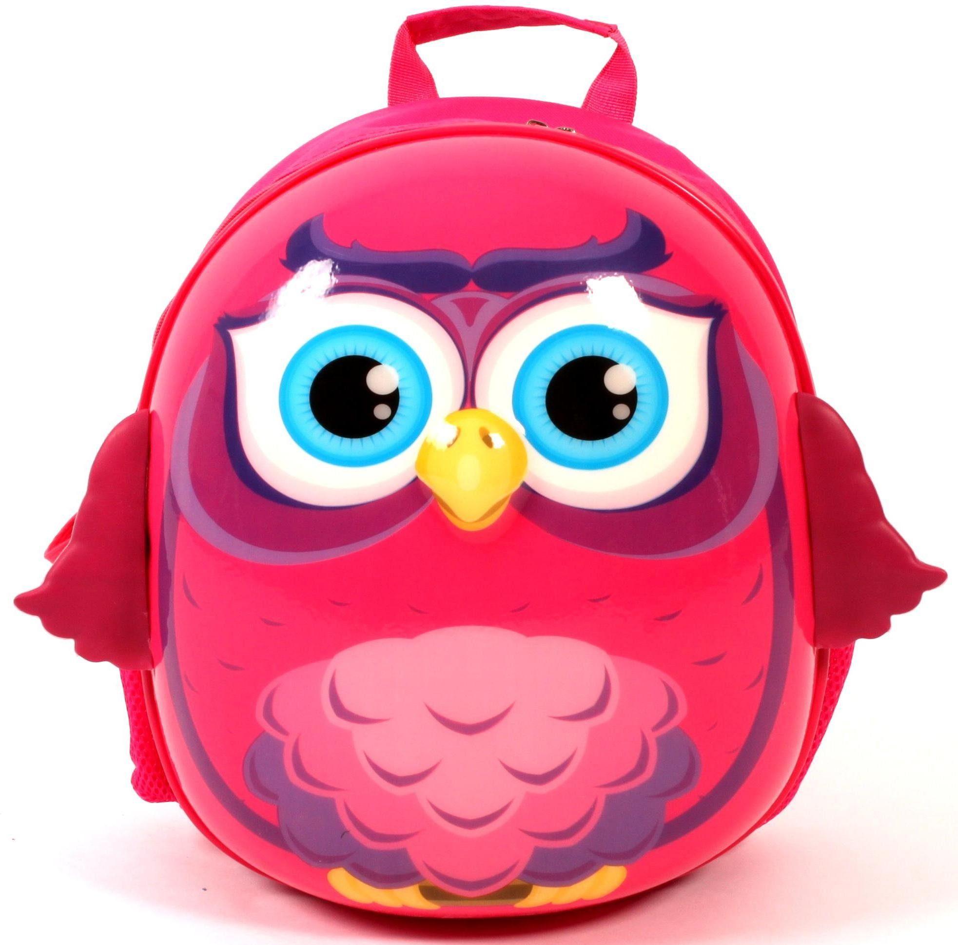 CHIC2000 3D Rucksack für Kinder, »Bouncie Eule«