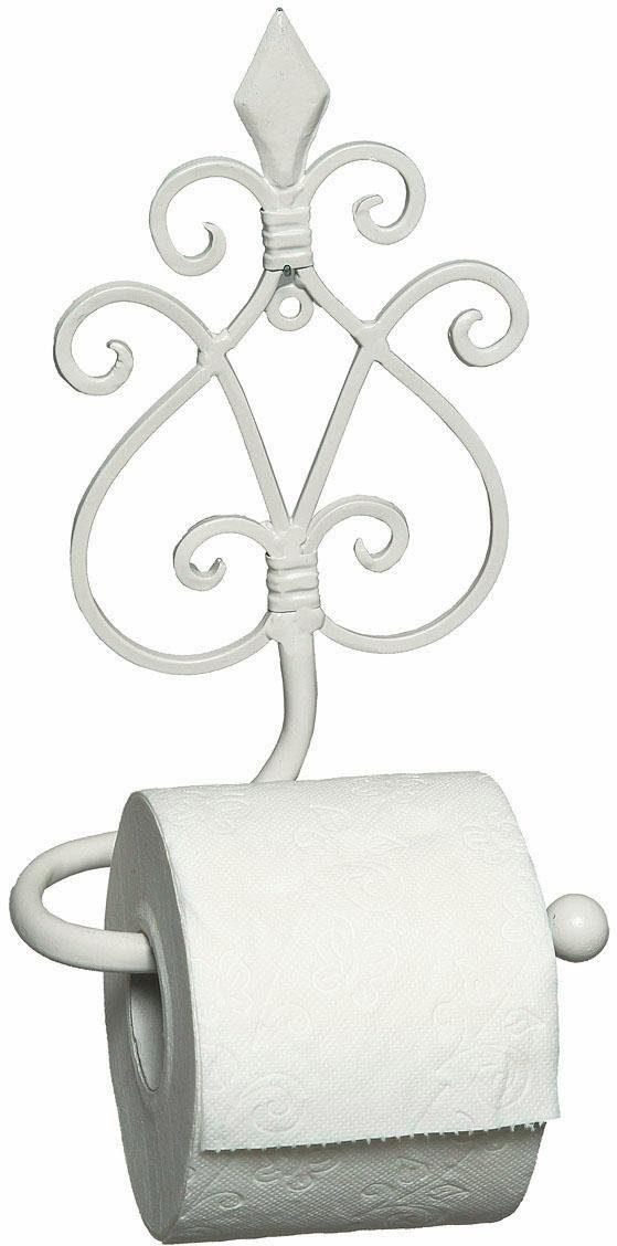 Home affaire Toilettenrpapierhalter »Antik«, weiß