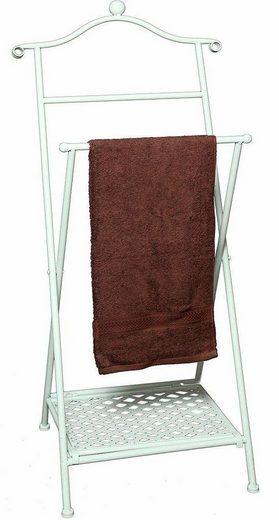 Home affaire Handtuchhalter »Antik«, antikweiß