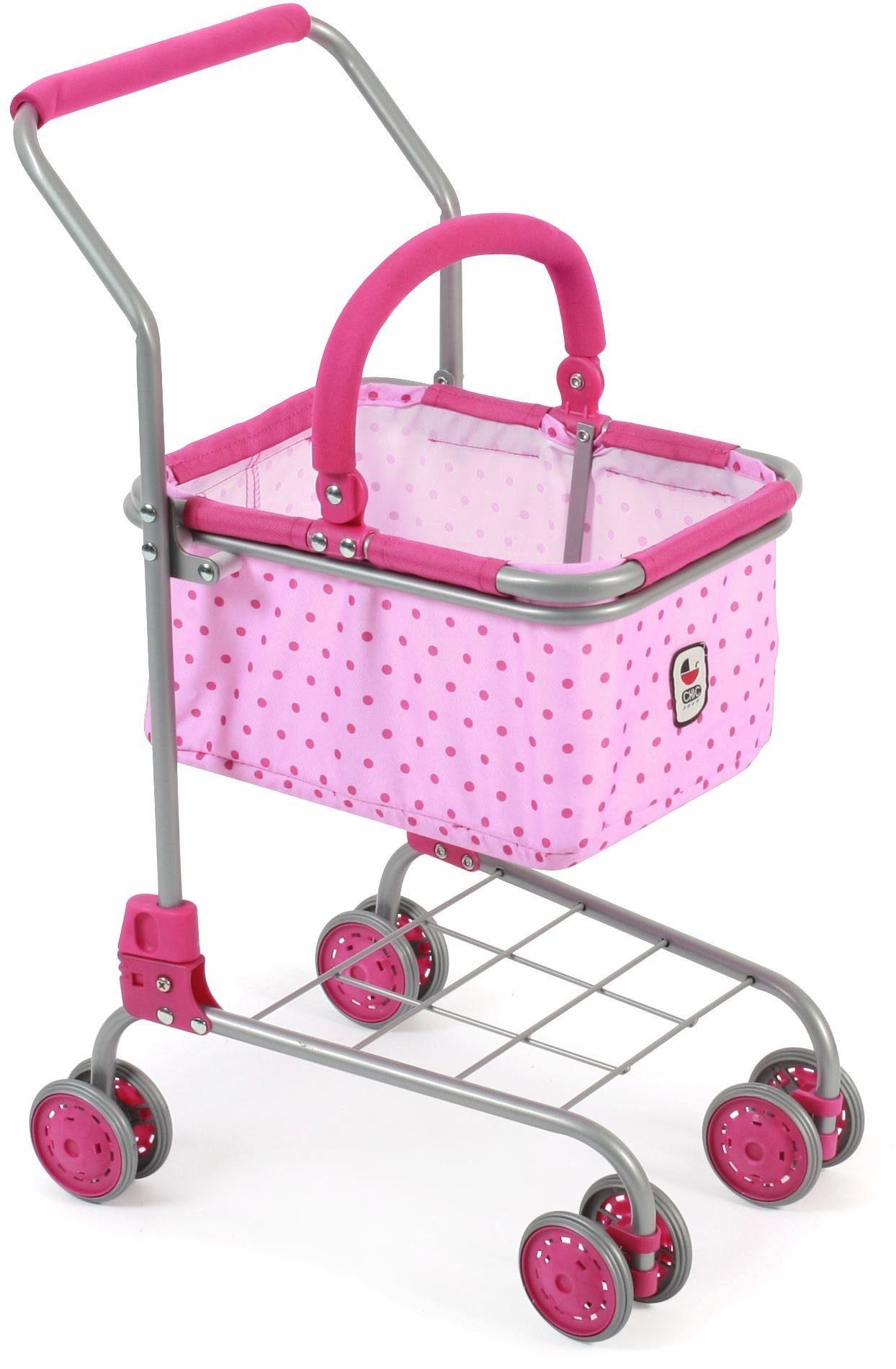 CHIC2000 Einkaufswagen mit herausnehmbarem Einkaufskorb, »pink«