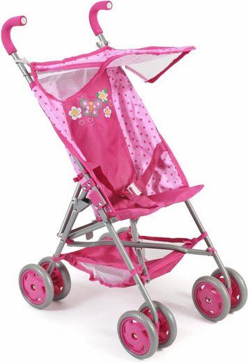 CHIC2000 Puppenbuggy »Vita, pink«, mit 3-Punkt-Sicherheitsgurt