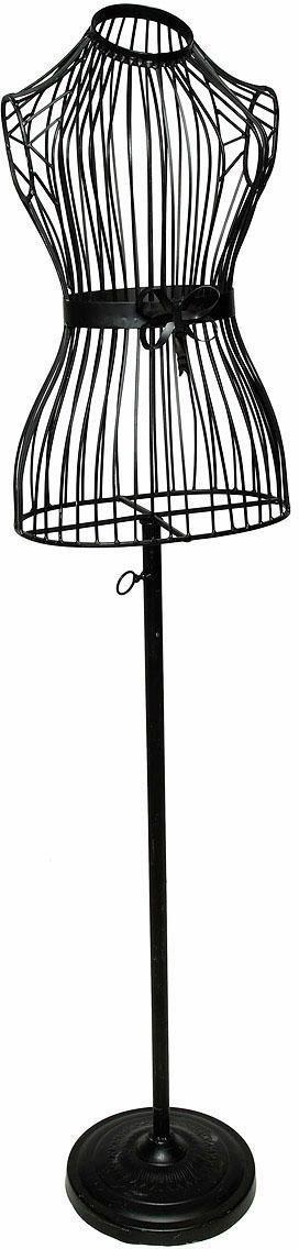 Schneiderpuppe »Antik III«, schwarz, als Dekoobjekt