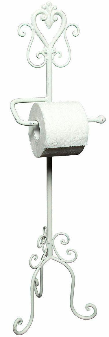 Home affaire Toilettenrpapierständer »Antik«, weiß