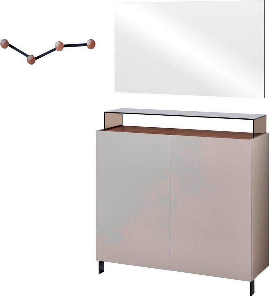 Germania garderoben set lesina 3 tlg kaufen otto for Garderoben set metall