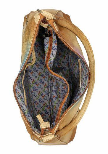 Art & Craft Hobo, aus hochwertigem Leder