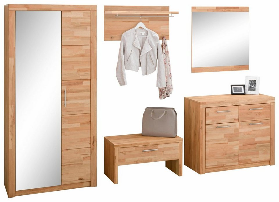 garderoben set simone 5 tlg online kaufen otto. Black Bedroom Furniture Sets. Home Design Ideas