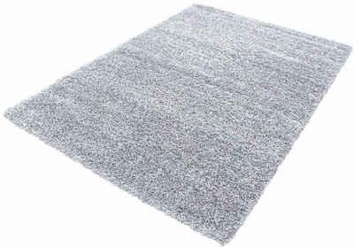 Hochflor-Teppich »Life Shaggy 1500«, Ayyildiz, rechteckig, Höhe 30 mm, Wohnzimmer