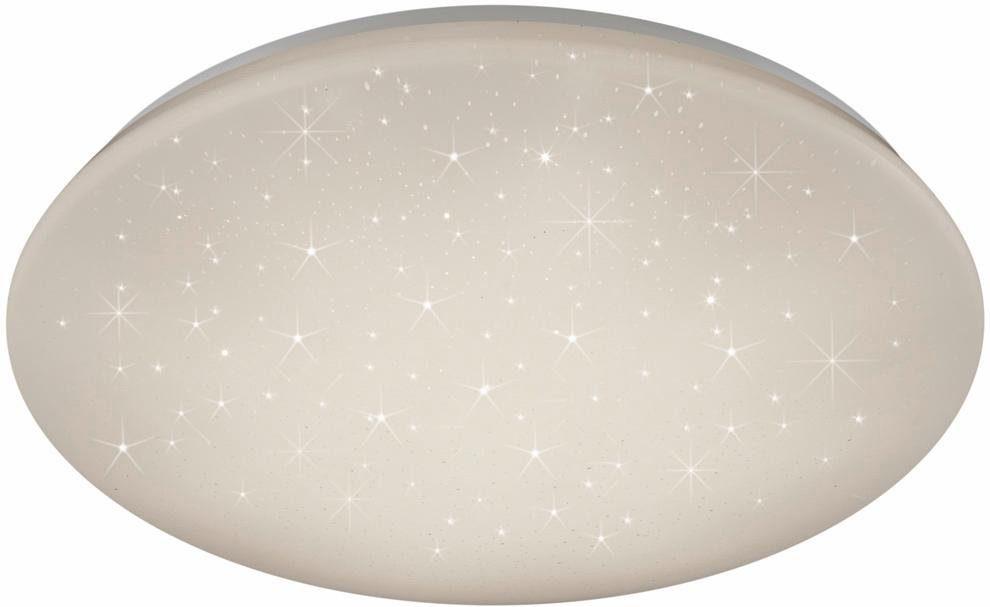 TRIO Leuchten LED Deckenleuchte, »JENNY« Kunststoffschirm