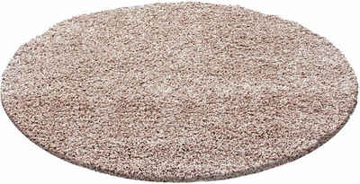 Teppich rund anthrazit  Hochflor-Teppich online kaufen » Langflor-Teppich | OTTO