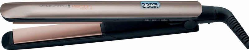 Remington Glätteisen »S8540« Keramik-Beschichtung mit Keratin und Mandelöl, nur 15 Sekunden Aufheizzeit