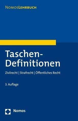 Broschiertes Buch »Taschen-Definitionen«