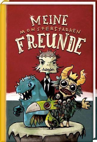 Gebundenes Buch »Freundebuch - Meine monsterstarken Freunde«