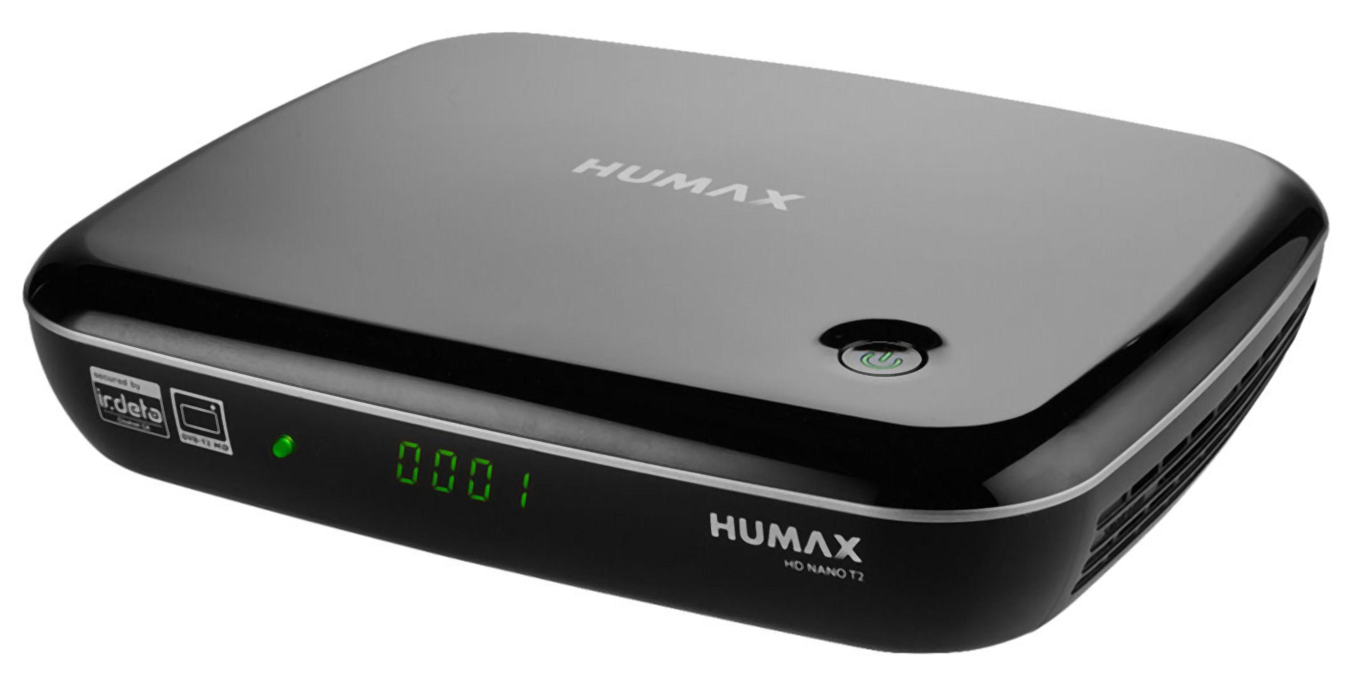 HUMAX DVB-T2 Digitaler HD-Receiver mit HDTV, USB & PVR Funktion »HD NANO T2«