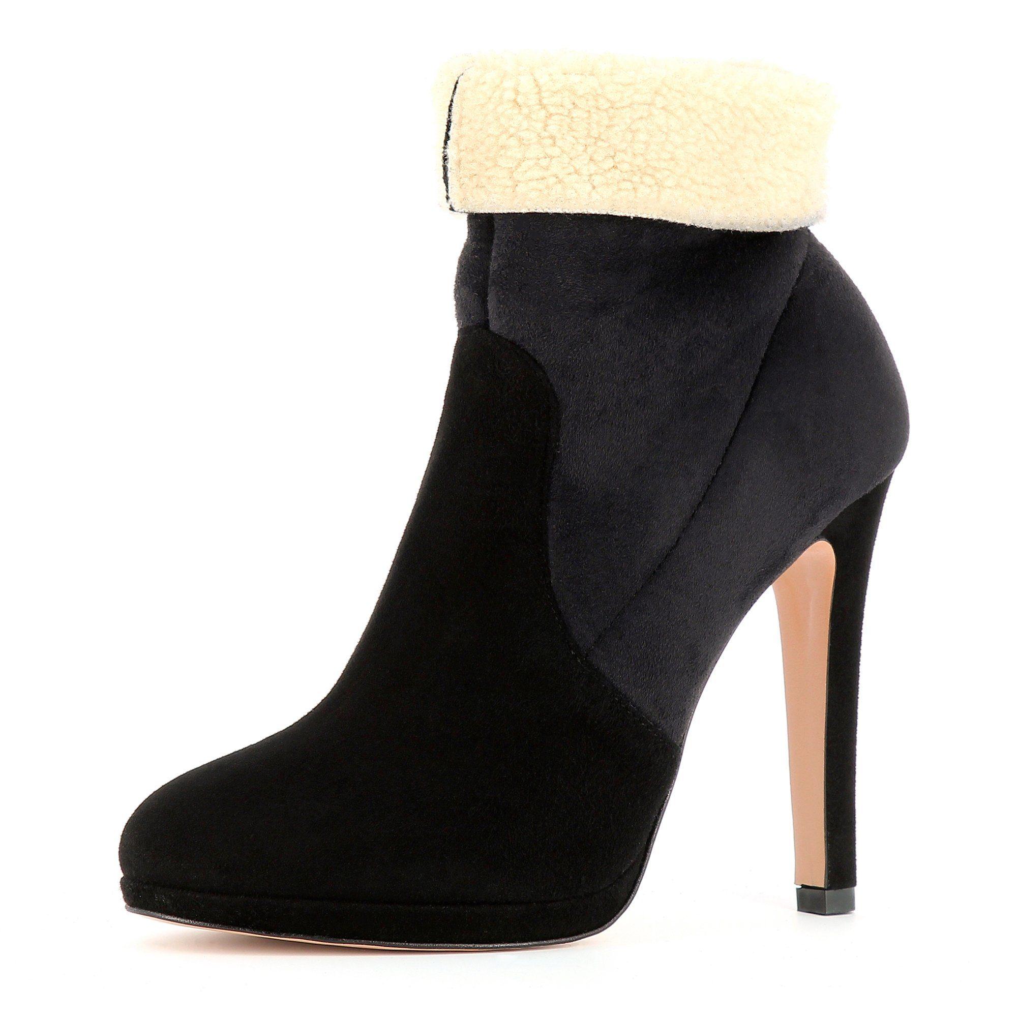 Evita »ELEONORA« Stiefelette, schwarz, EURO-Größen, schwarz