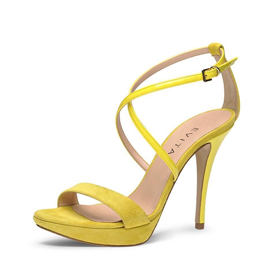 Evita VALERIA Sandalette online kaufen  gelb