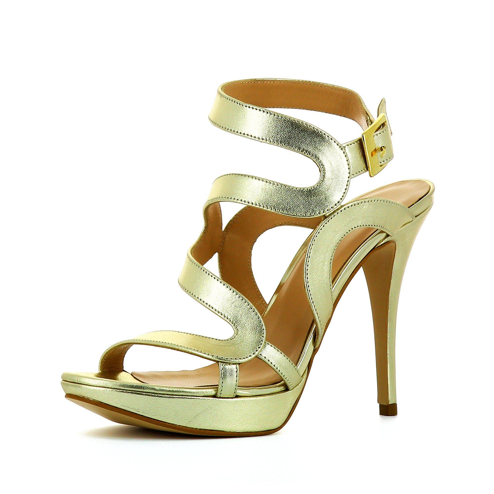 Evita VALERIA Sandalette online kaufen  goldfarben