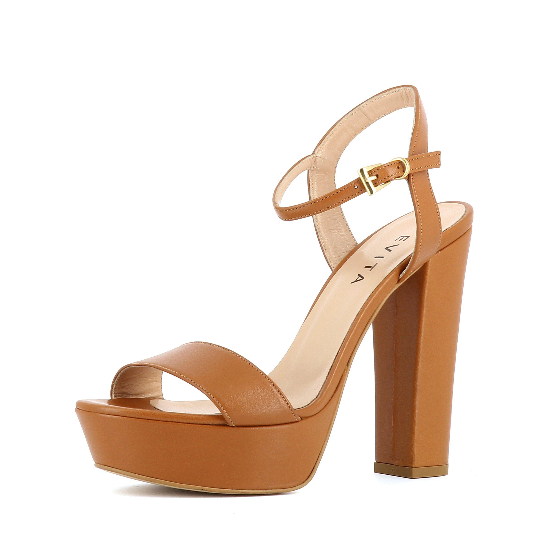 Evita STEFANIA Plateausandaletten, High-Heel-Sandalette online kaufen  braun