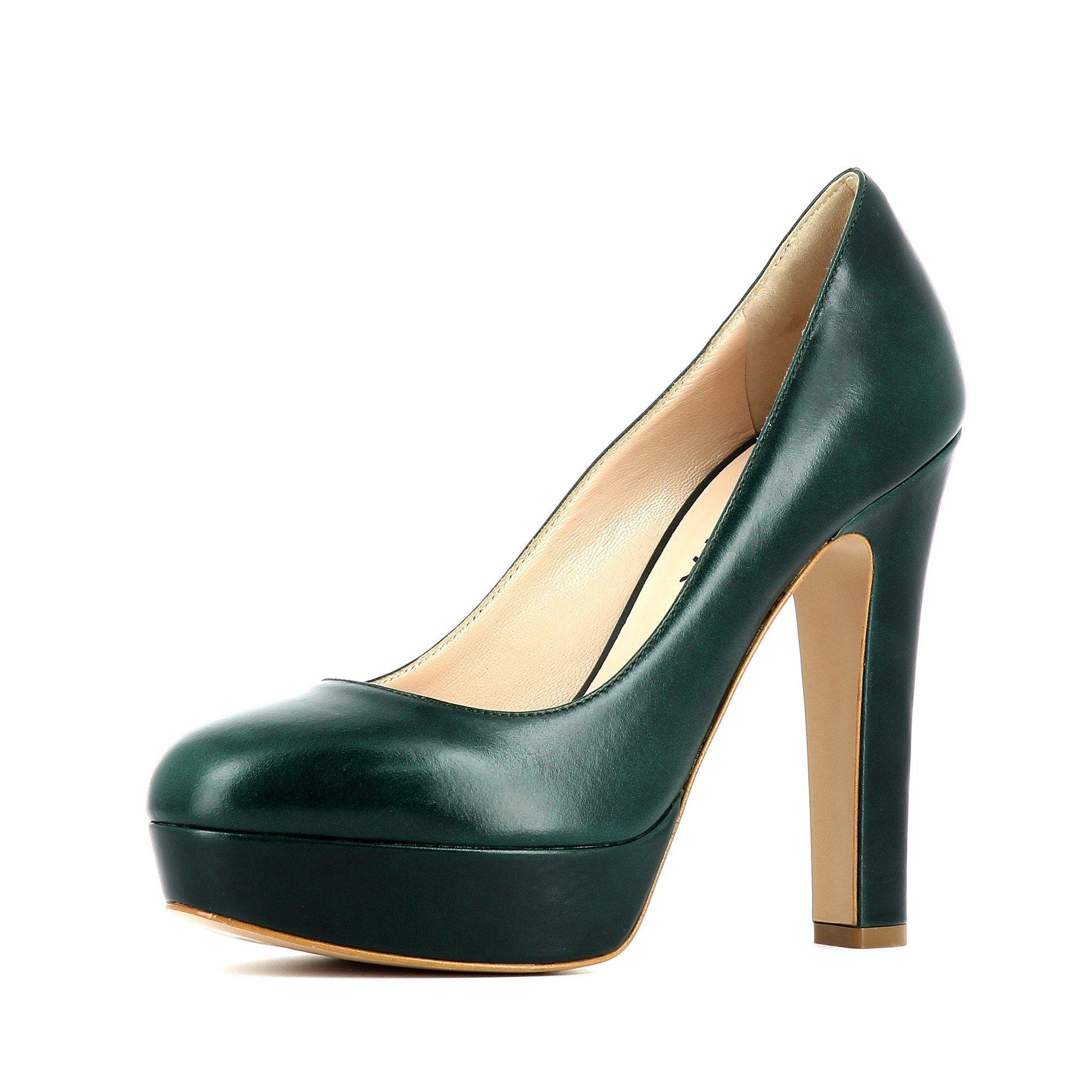 Evita RICCARDA Pumps, High-Heel-Pumps kaufen  dunkelgrün