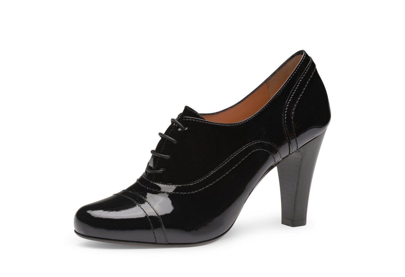 Evita »MARIA« Schnürpumps   Schuhe > Pumps > Schnürpumps   Schwarz   Evita