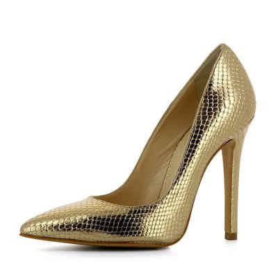 Evita »NATALIA« Pumps, goldfarben, goldfarben