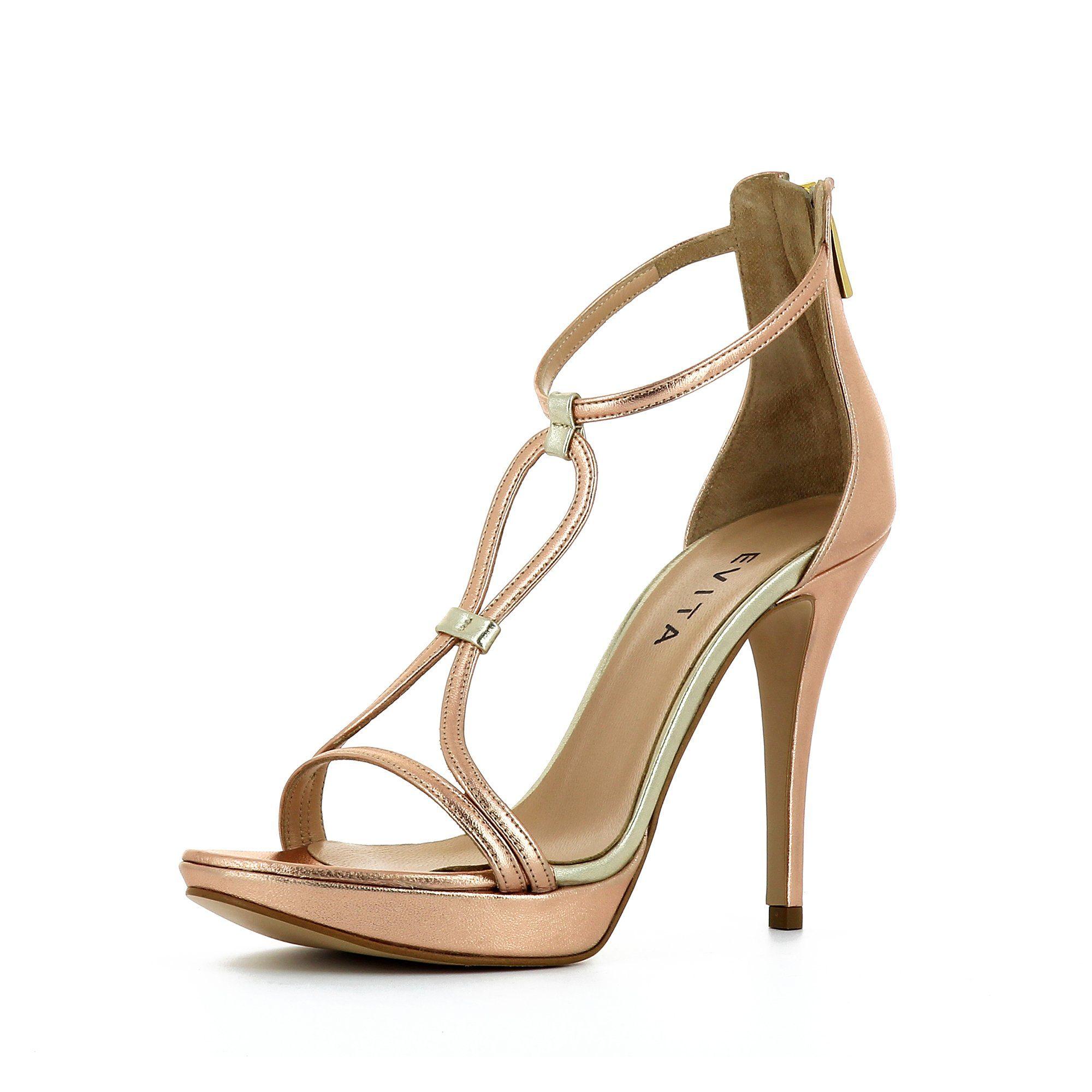 Evita VALERIA Plateausandaletten, High-Heel-Sandalette online kaufen  roségoldfarben