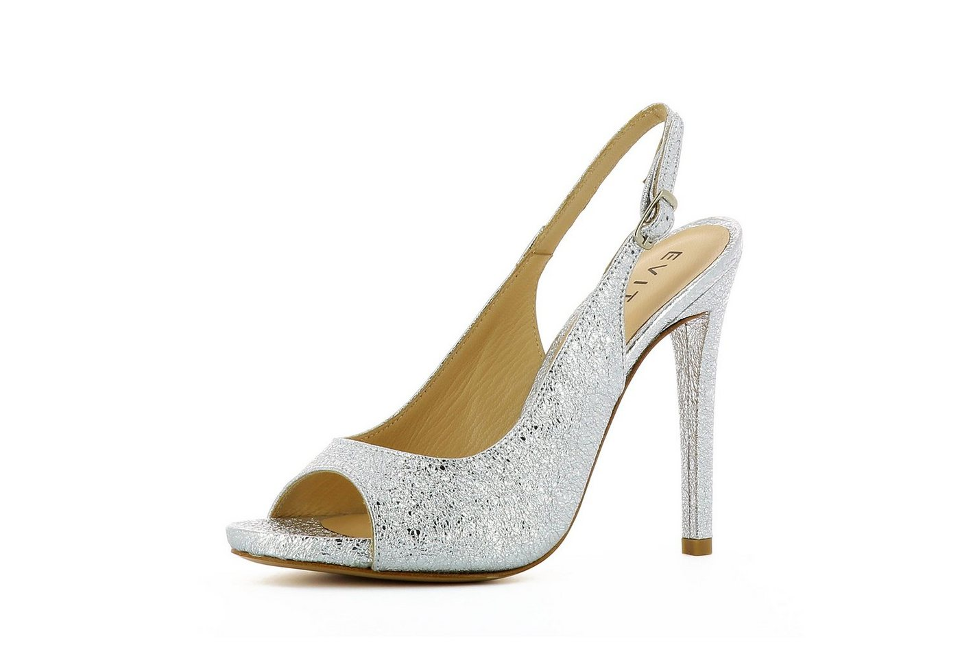 Damen Evita  FLAVIA Peeptoepumps silber | 04059599007781