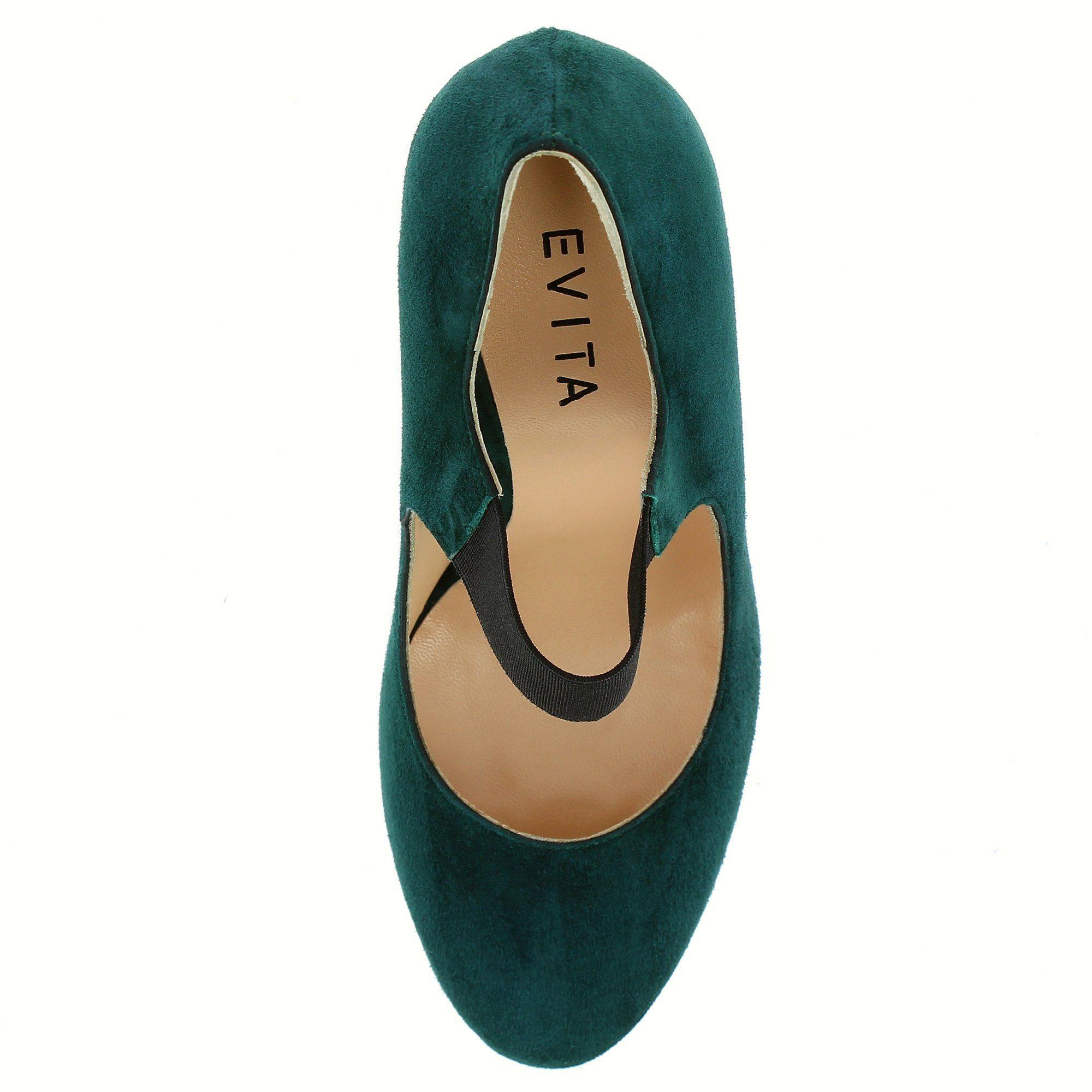 Evita ELEONORA Pumps online kaufen  dunkelgrün