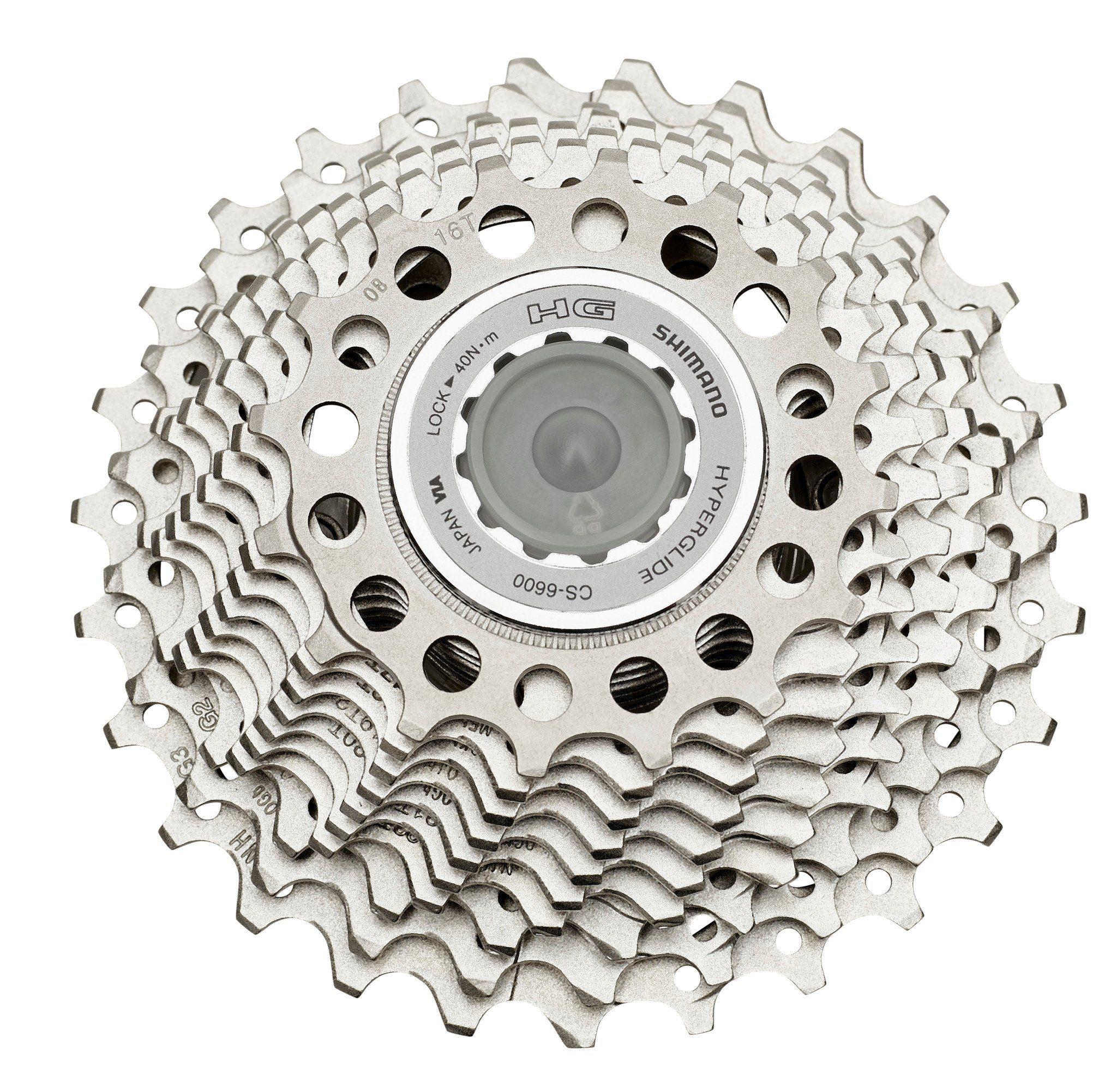 Shimano Fahrradkasetten »Shimano Ultegra CS-6600 Kassette 10-fach 16-27«