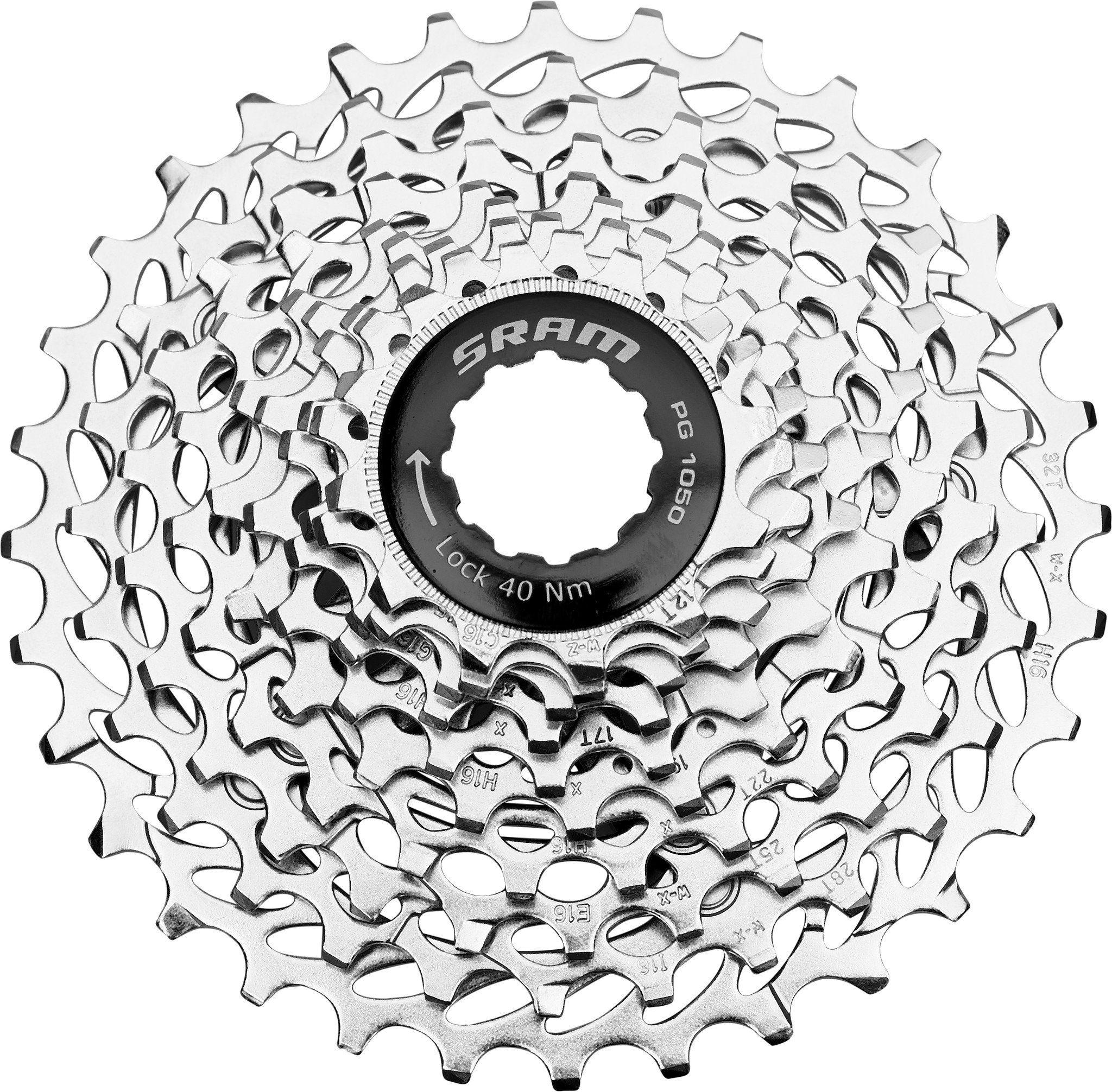 SRAM Fahrradkasetten »PG-1050 PowerGlide Kassette 10-fach 12-32 Zähne«