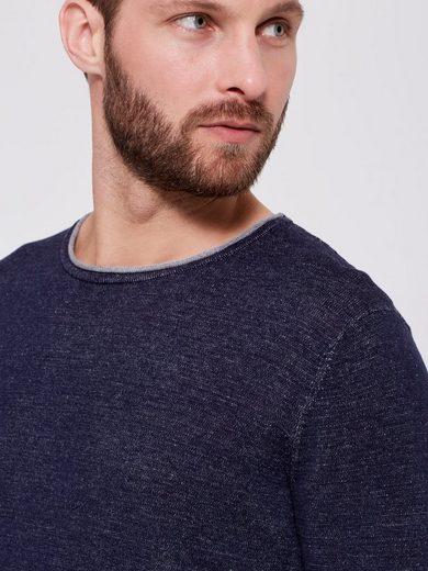 Selected Homme Rundhalsausschnitt - Baumwoll-Strickpullover