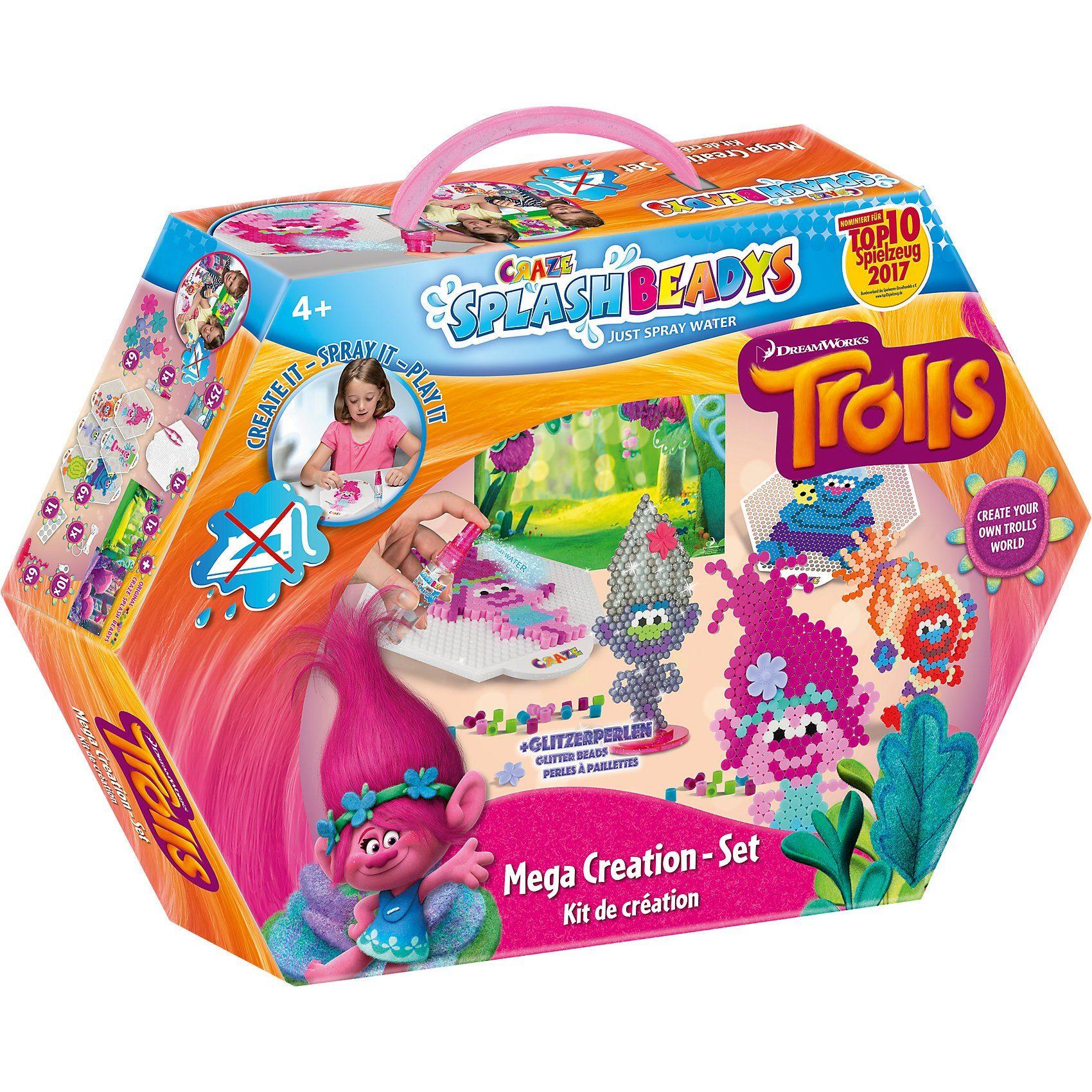 CRAZE Splash Beadys Trolls Creation Set
