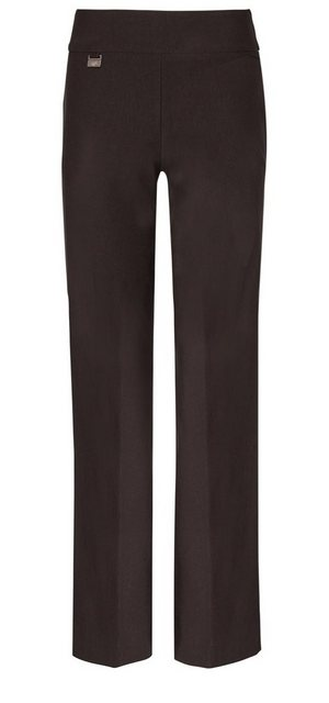 Hosen - Lisette L Wide Leg »in Flatterie Fit design« › schwarz  - Onlineshop OTTO