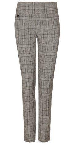Lisette L Ankle Pantalon im klassische Karomuster