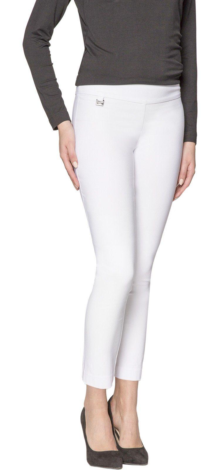 Damen Lisette L Ankle Hosen Perfect fitting Slim weiß | 08718192275510