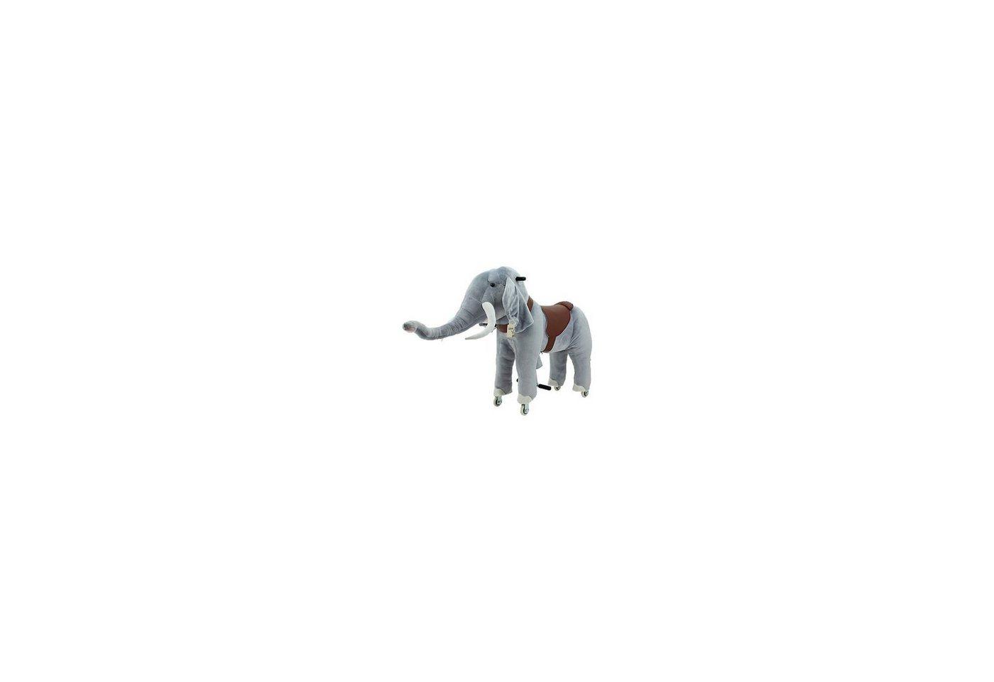 Sweety-Toys Sweety Toys Reittier Elefant auf Rollen, groß