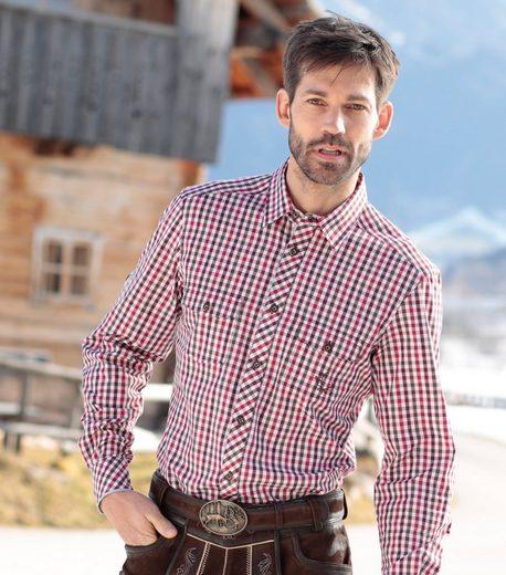 Spieth & Wensky Trachtenhemd im Karodesign
