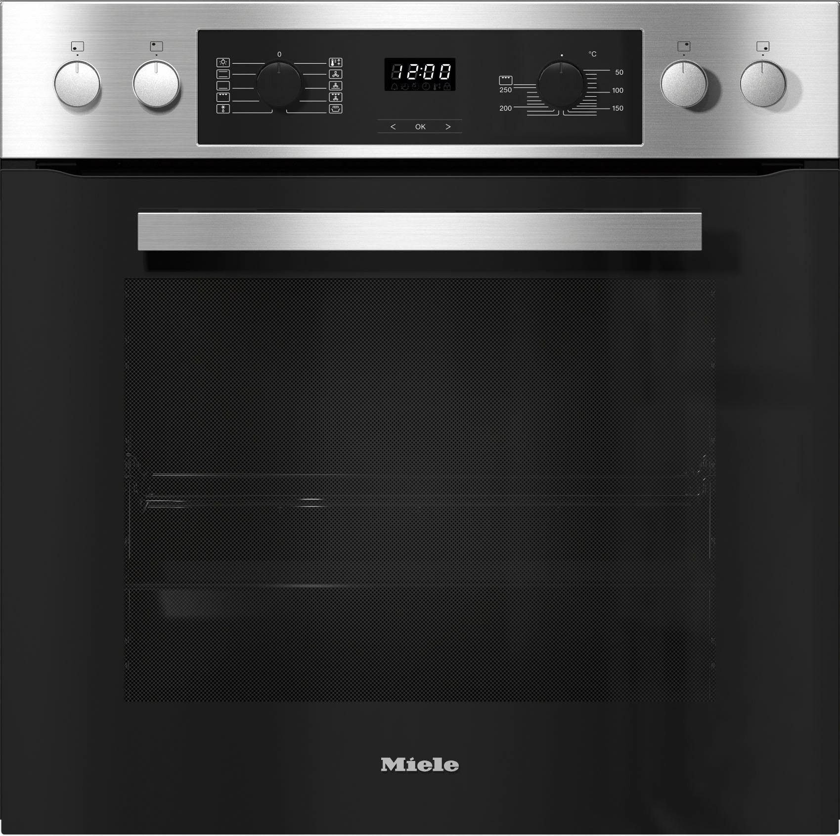 Miele Herd-Set H 2265 I Active + KM 6080, LC-Display mit Touch-Bedienung