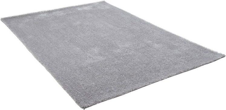 Hochflor-Teppich »Alessandro«, THEKO, rechteckig, Höhe 25 mm, Besonders weich durch Microfaser