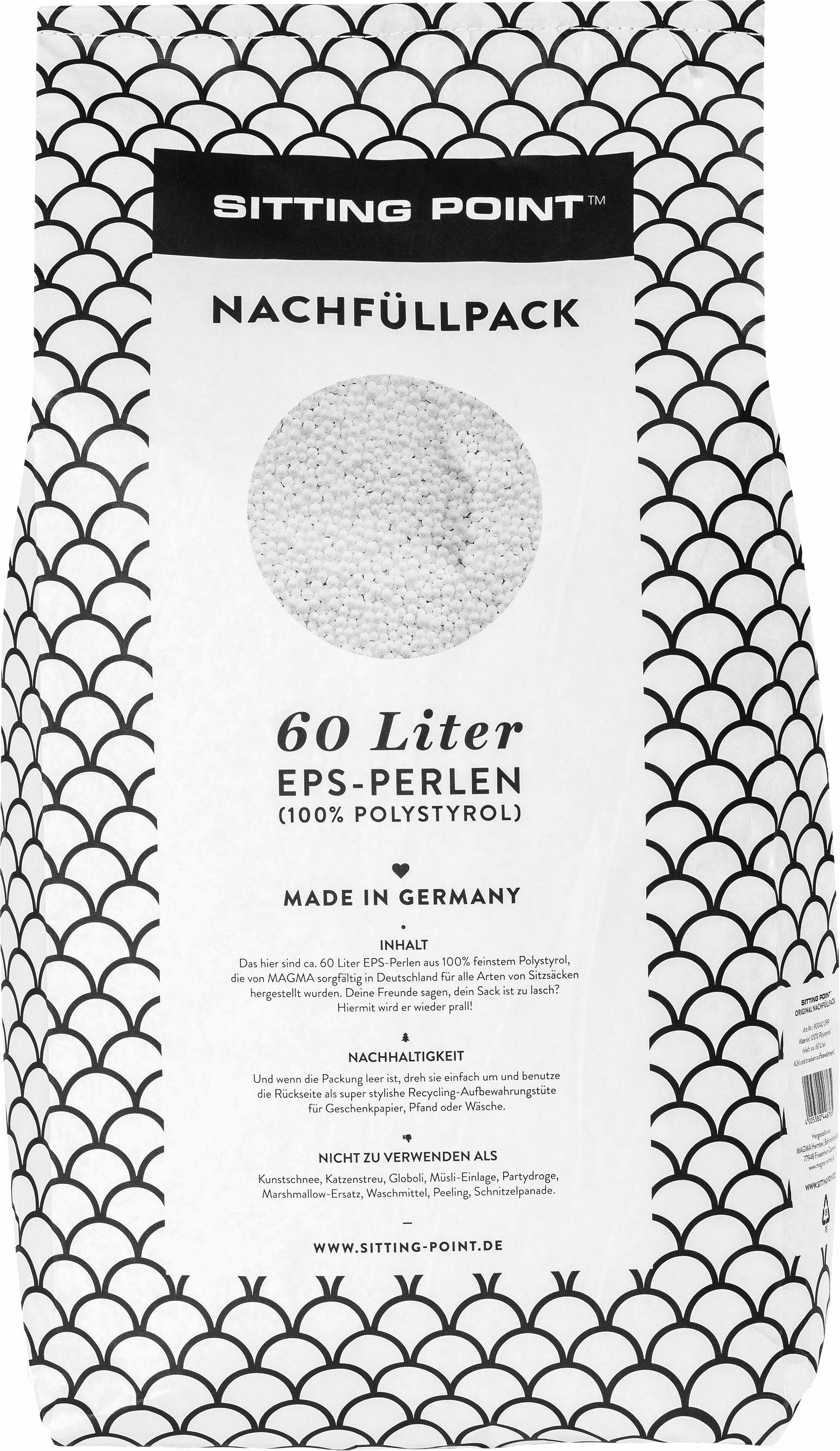 Sitting Point Nachfüllpack, 60 l