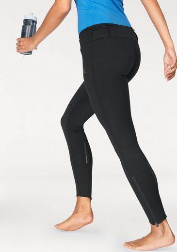 adidas Performance Lauftights RESPONSE CLIMA WARM WOMENS, mit Reißverschluss am Hosensaum