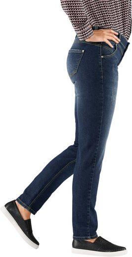 Alessa W. Jeans Mit Used-effekte