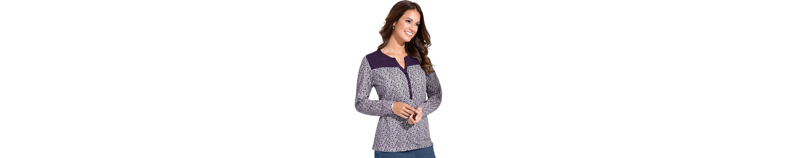Low-Cost Online Finden Online-Großen Verkauf Classic Inspirationen Shirt im Millefleurs-Dessin Billig Klassisch Spielraum 2018 Unisex Wahl 7f3Qa