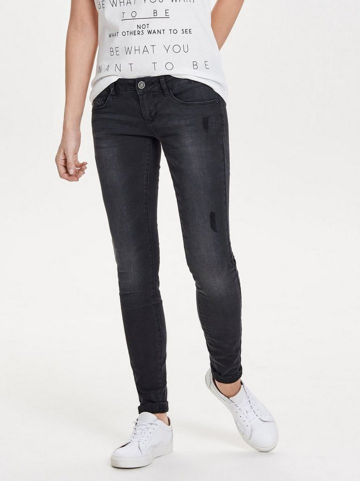 only coral sl skinny fit jeans mit low waist otto. Black Bedroom Furniture Sets. Home Design Ideas